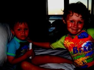 Liam and Matthew Heinke